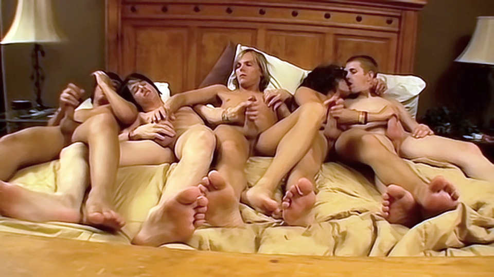 Five Twink Boys Get It On - Asher, Brenden, Dillon, Kyros And Kayden